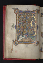 Tree Of Jesse, In 'The Grandisson Psalter'